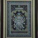 Vigneshwara : Pattachitra Leaf Painting
