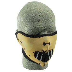 Half Mask, Neoprene, Hannibal