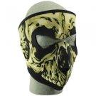 Full Mask, Neoprene, Skull