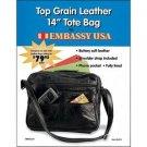 "Brochure Maxam Genuine Leather 14"""