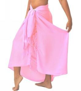 Solid Sarong Pink
