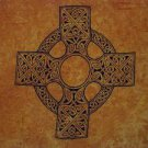 Celtic Sarong, Celtic Cross 1 Soft Gold