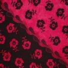 Hibiscus Sarong Dark Pink / Fuchsia