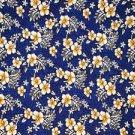 Hibiscus Sarong Royal Blue / White- Hi-27
