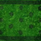 Celtic Sarong, Interlace Knotwork Emerald Green