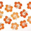 Hawaiian Sarong - White/orange