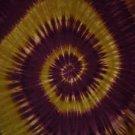 Tie Dye Sarong Brown Swirl