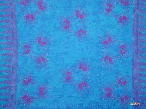 Butterfly Sarong Blue / Purple - Bf-3