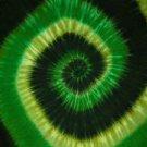 Tie Dye Sarong Green Swirl Sarong
