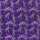 Dragonfly Half Sarong/mini Sarong Purple