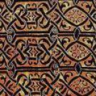 Abstract Tribal Half Sarong Goldish Brown