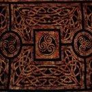Celtic Circles Sarong, Brown