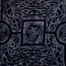 Celtic Circles Sarong, Slate Grey