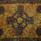 Celtic Cross Sarong, Rich Gold