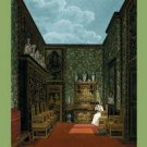 Green Closet - Frogmore - 16x24 Giclee Fine Art Print Framed In Black (20x30 Finished)