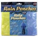 Emergency Rain Ponchos (case Of 144)