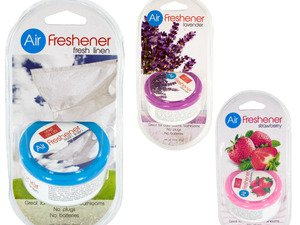 Gel Air Freshener With Vented Lid (case Of 72)