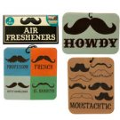 Chocolate Scented Mustache Air Freshener (case Of 144)