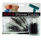 Bath & Shower Caddy With Suction Cups (case Of 96)