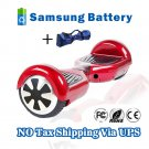 6.5 inch Self electric balance scooter 2 Wheels Hover Board Red