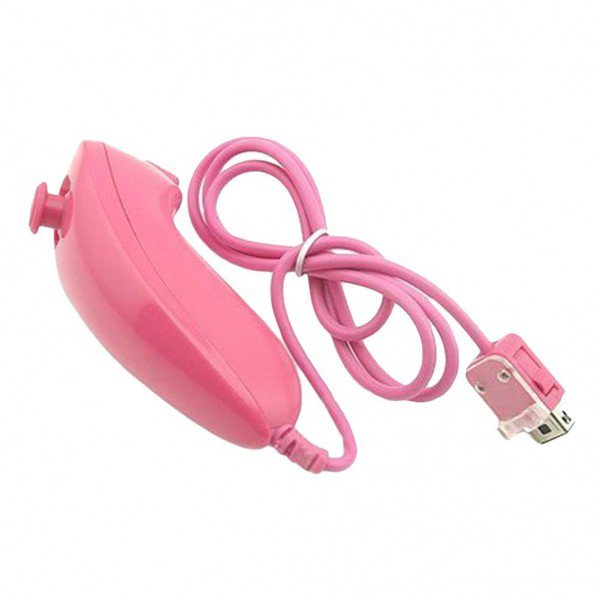 Nunchuk Controller for Wii/Wii U Pink