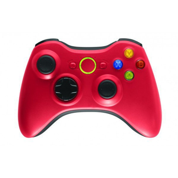 Wireless Controller for Windows & Xbox 360 Console - Red
