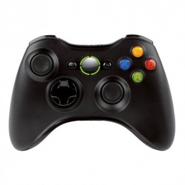 Wireless Controller for Windows & Xbox 360 Console - Glossy Black