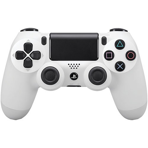 Dual Shock 4 Bluetooth Controller for PS4 - Glacier White