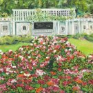"""Cranford Rose Garden"" ~ Art Notecards"