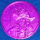 WILLIE NELSON MARDI GRAS DOUBLOON COUNTRY MUSIC SINGER ACTOR GRAND OLE OPRY