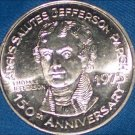 THOMAS JEFFERSON NEW ORLEANS MARDI GRAS DOUBLOON JULY 4TH 3RD U.S. PRESIDENT