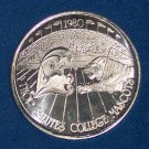 LSU FOOTBALL AND TULANE UNIVERSITY VINTAGE MASCOTS NOLA MARDI GRAS DOUBLOON COIN