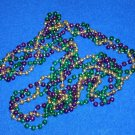ELEGANT PRETTY AUTHENTIC NEW ORLEANS TWISTED PURPLE GREEN GOLD MARDI GRAS BEAD