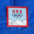 2006 TORINO ITALY OLYMPICS PIN RINGS MICHELLE KWAN *GREAT OLYMPICS TRADING PIN*