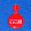 NATIONAL WORLD WAR II MUSEUM SOUVENIR PIN HISTORIC MILITARY WWII COLLECTIBLE