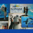 **BRAND NEW** SEA WORLD UP CLOSE AND PERSONAL POSTCARD WHALE DOLPHIN POLAR BEAR
