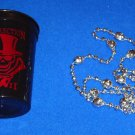 NEW ORLEANS VOODOO MARDI GRAS GIFT PACKAGE #1 ARENA FOOTBALL LEAGUE SKULL BEAD