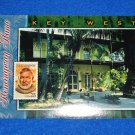 *BRAND NEW* KEY WEST ERNEST HEMINGWAY HOUSE POSTCARD SPANISH COLONIAL STYLE HOME