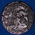 """JPSO GRAND MARSHAL BACCHUS """"SHERIFF HARRY LEE"""" NEW ORLEANS MARDI GRAS DOUBLOON"""