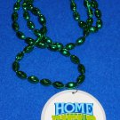 TULANE UNIVERSITY YULMAN FOOTBALL STADIUM EMBLEM NEW ORLEANS MARDI GRAS BEAD