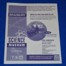 BRAND NEW BRADBURY SCIENCE MUSEUM BROCHURE LOS ALAMOS NATIONAL LABORATORY