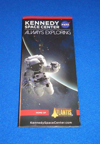 *BRAND NEW* KENNEDY SPACE CENTER BROCHURE NASA SPACE SHUTTLE ATLANTIS APOLLO