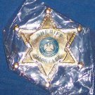 **RARE NEW JEFFERSON PARISH SHERIFF HARRY LEE BADGE MARDI GRAS MAGNET **SEALED**