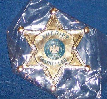 **RARE NEW JEFFERSON PARISH SHERIFF HARRY LEE BADGE MARDI GRAS MAGNET **SEALED**