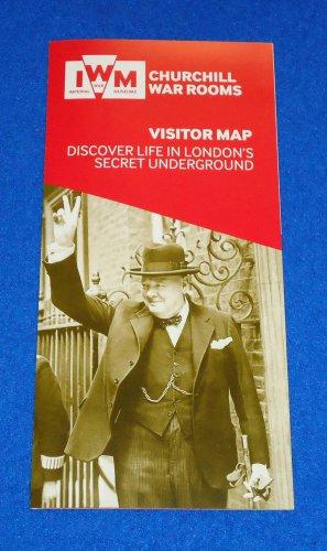 NEW CHURCHILL WAR ROOMS LONDON'S SECRET UNDERGROUND WORLD WAR II MUSEUM BROCHURE
