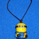 "**BRAND NEW** ""DESPICABLE ME"" MOVIES CHARACTER MINION PLASTIC FIGURE WITH STRAP"