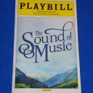 THE SOUND OF MUSIC PLAYBILL RICHARD RODGERS OSCAR HAMMERSTEIN II JULIE ANDREWS