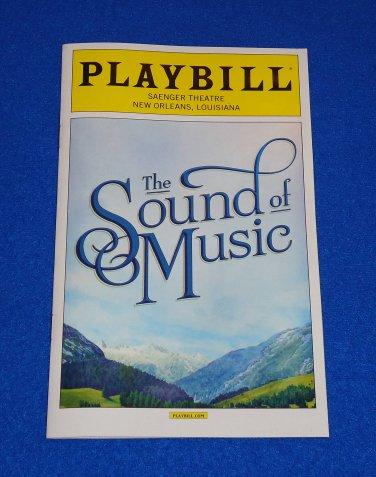 THE SOUND OF MUSIC PLAYBILL RICHARD RODGERS OSCAR HAMMERSTEIN II JULIE ANDREWS