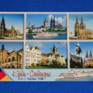 *BRAND NEW* BEAUTIFUL SCENES OF COLOGNE GERMANY POSTCARD UNUSED KOLN RHINE-RUHR