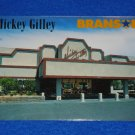 *BRAND NEW* UNUSED MICKEY GILLEY THEATRE POSTCARD BRANSON MISSOURI COUNTRY MUSIC